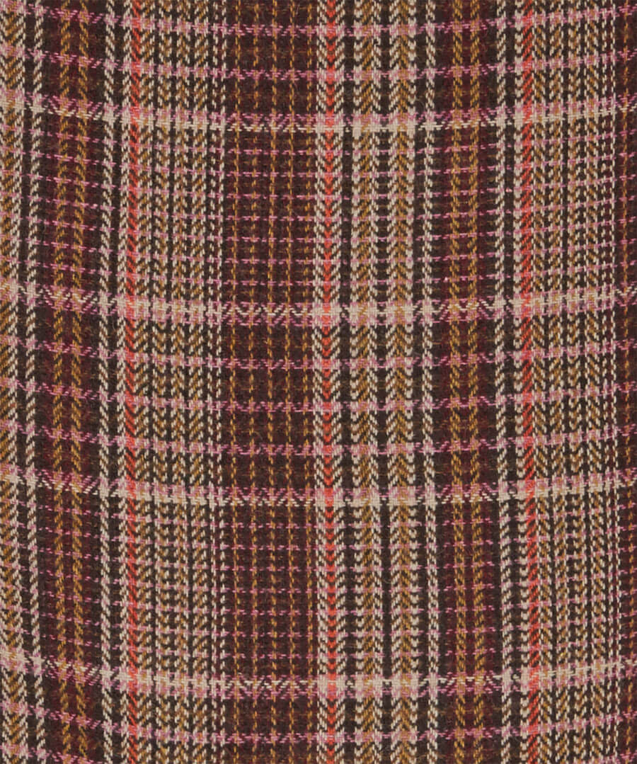 Country Check Skirt Back