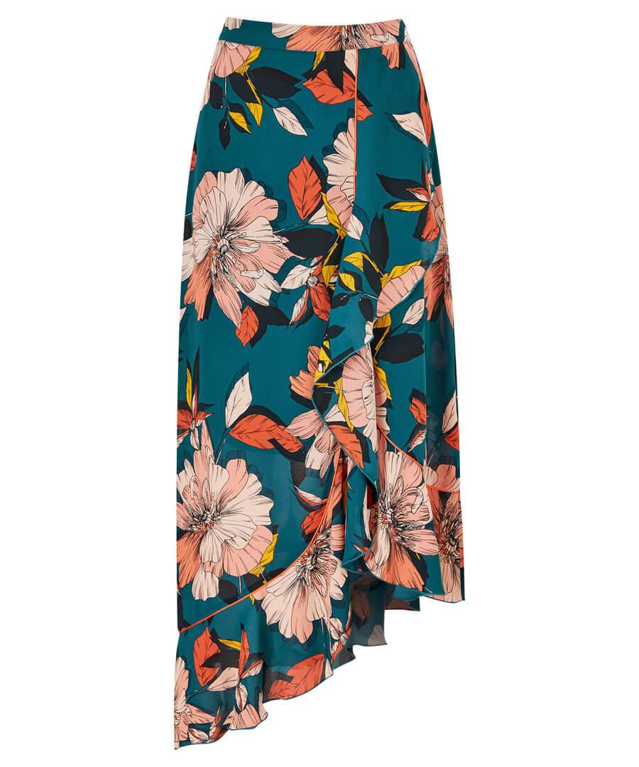 Fancy Frill Skirt Model Front