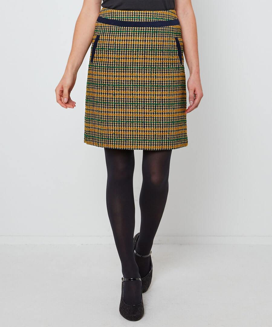 Terrific Check Skirt