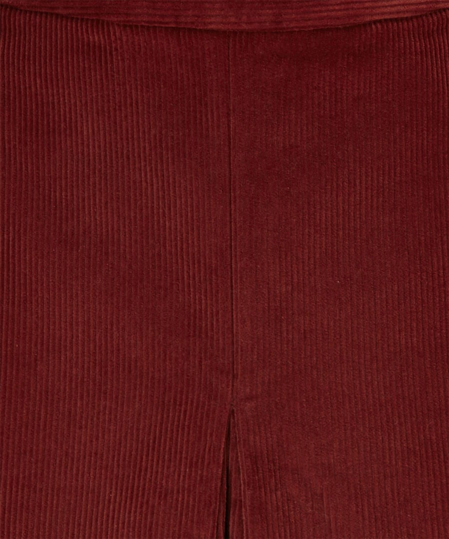 Retro Cord Skirt Back