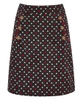 Polka Dot Cord Skirt