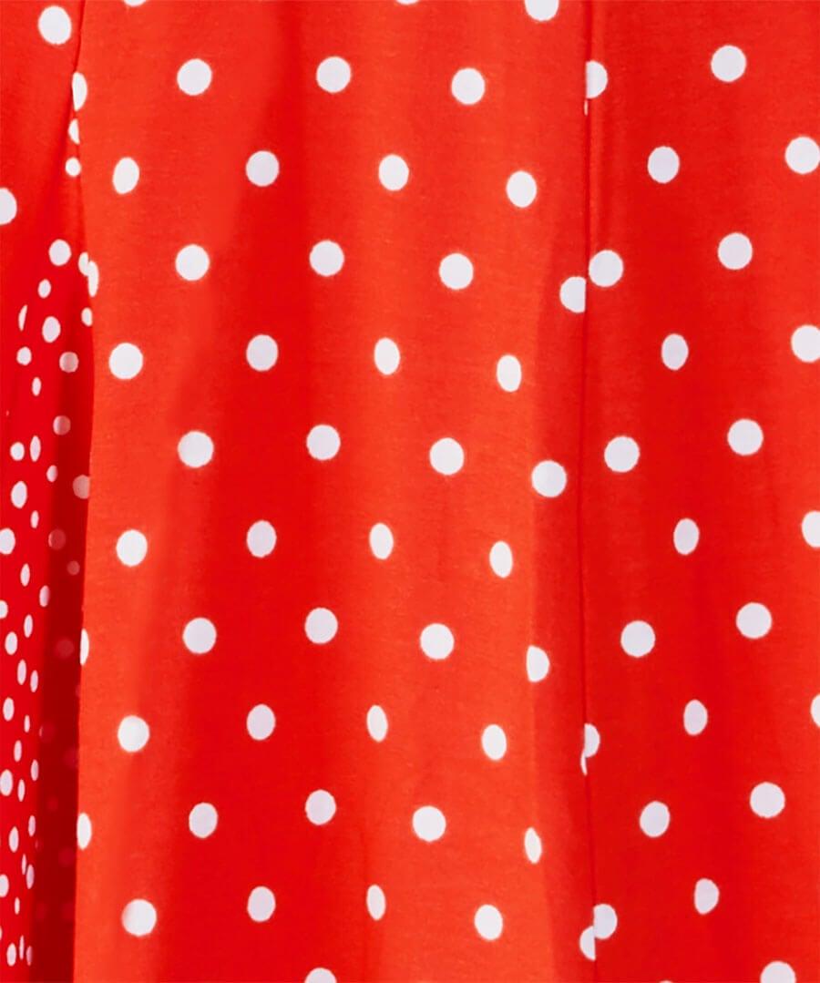 Ultimate Polka Dot Skirt Back