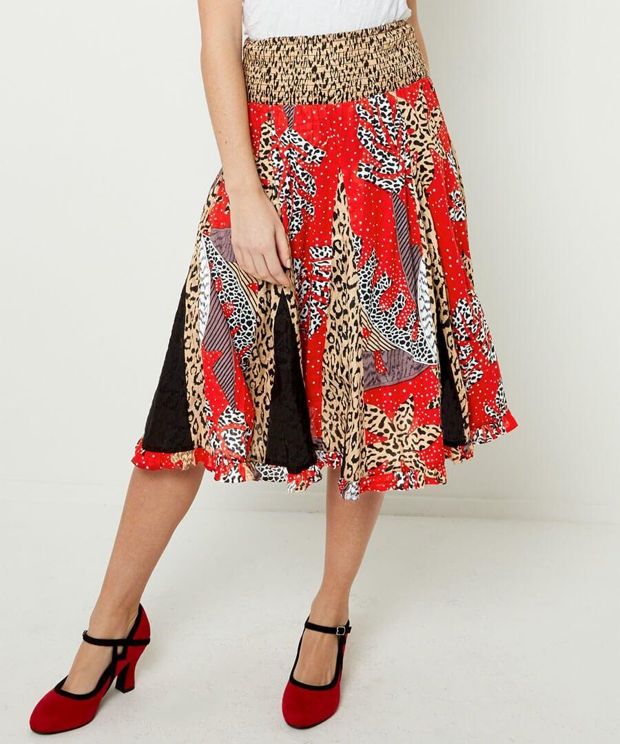 Ruby Rosa Skirt Model Front