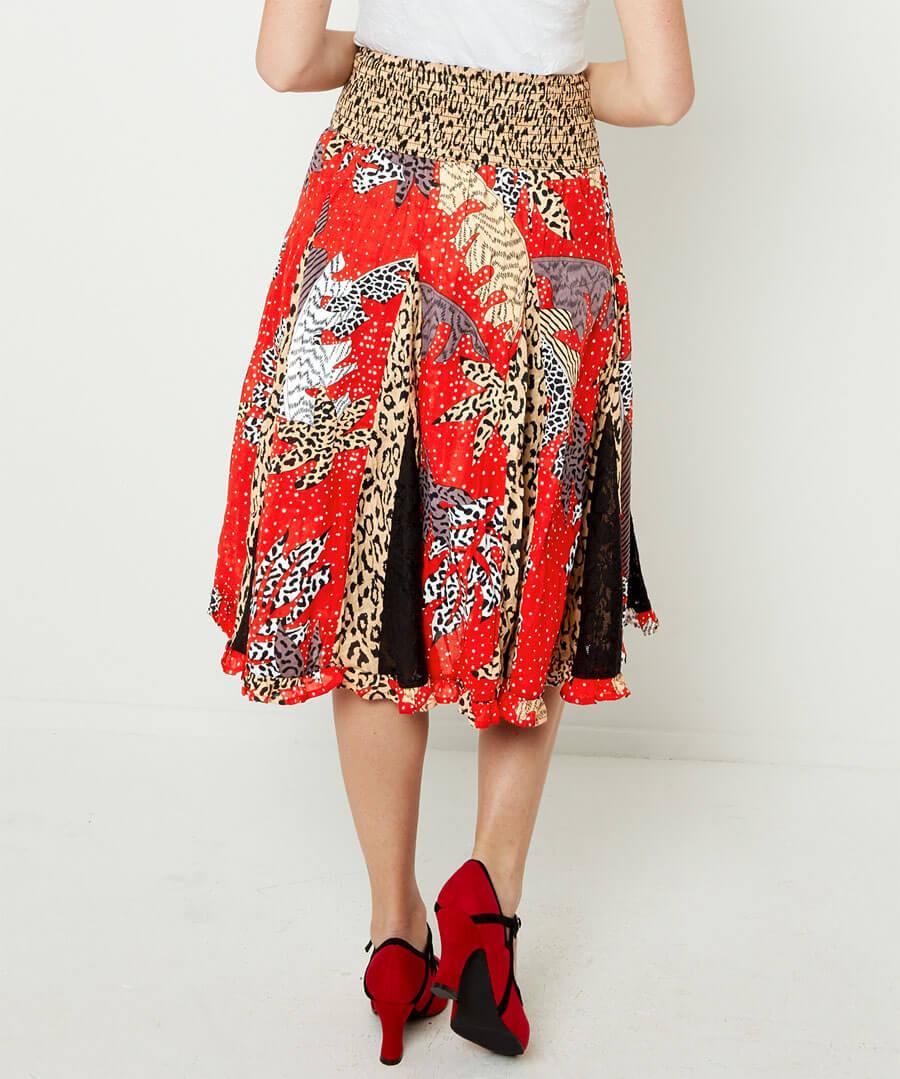 Ruby Rosa Skirt Model Back