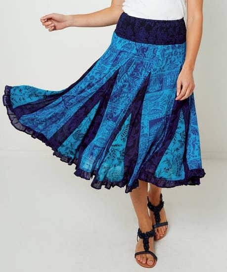 Charming Crinkle Skirt