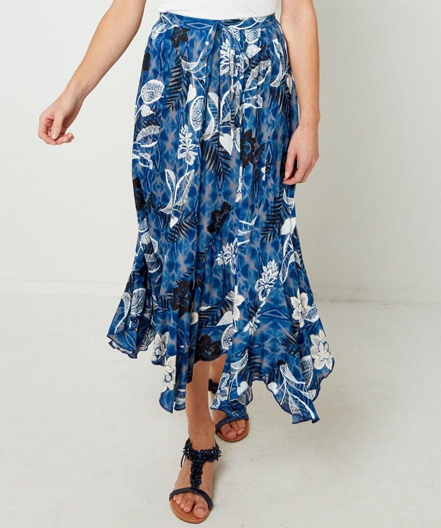 Tie-Dye Dream Skirt Model Front