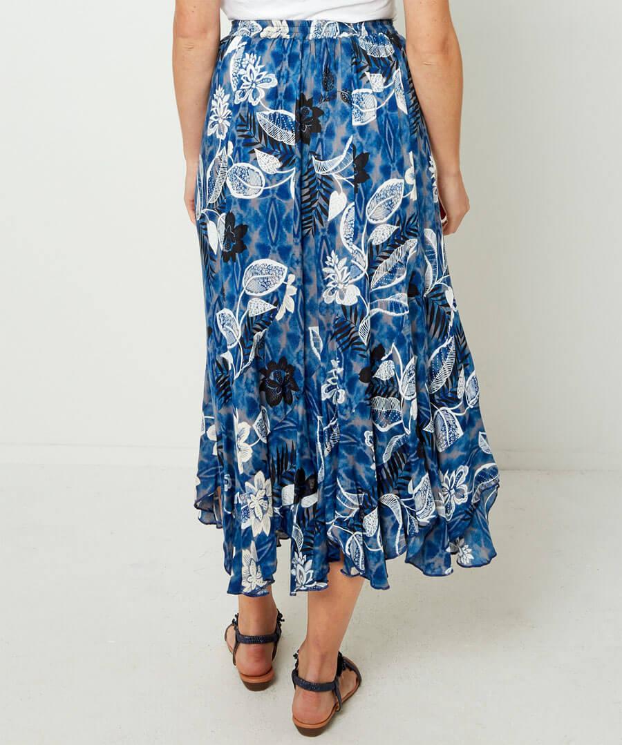 Tie-Dye Dream Skirt Model Back