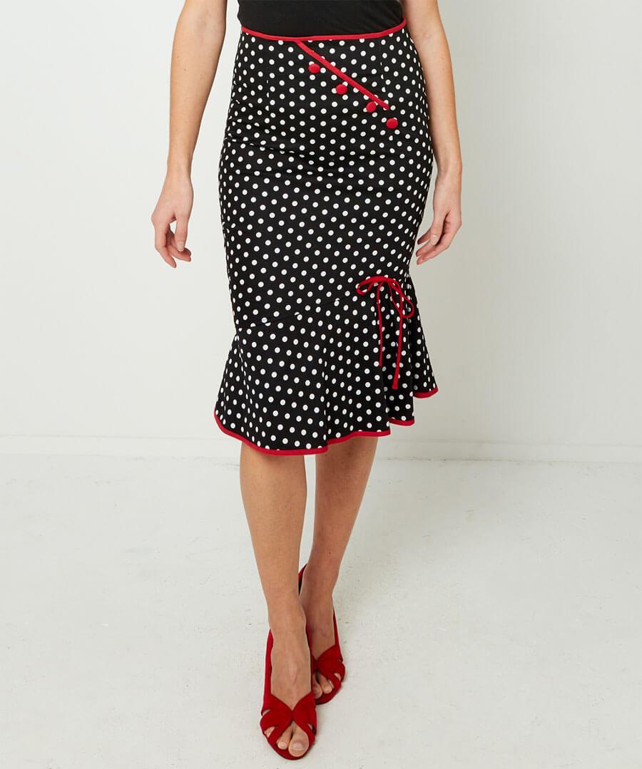 The Bop Skirt Model Front