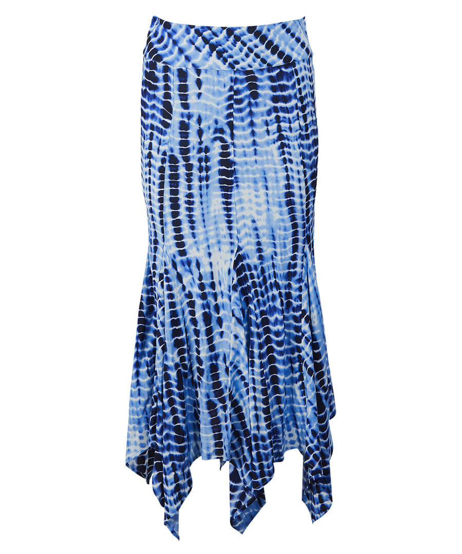 Hanky Hem Skirt Model Front