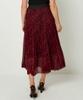 Dotty Pleated Skirt