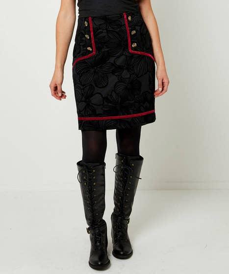 Velvet Taping Skirt