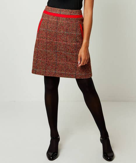 Terrific Tweedy Skirt