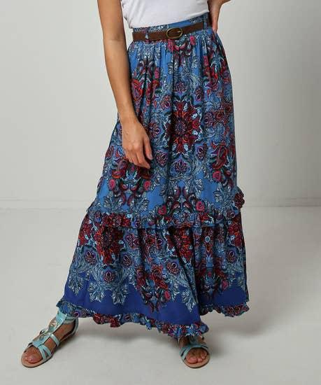 Fancy Printed Skirt