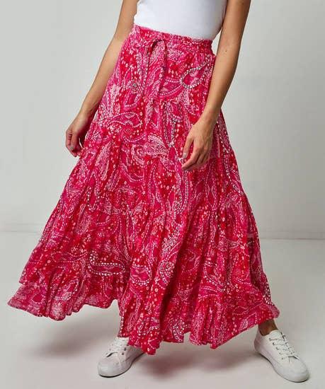 Tantalising Printed Skirt