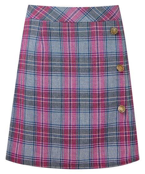 Spring Check Skirt