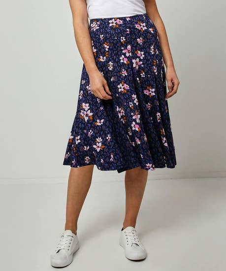 Elegant Jersey Skirt