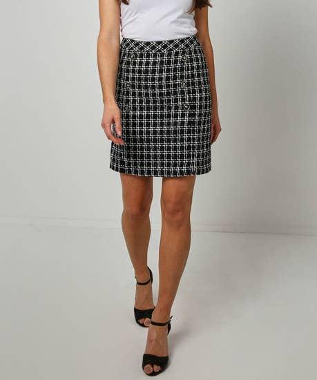 Beautiful Boucle Skirt