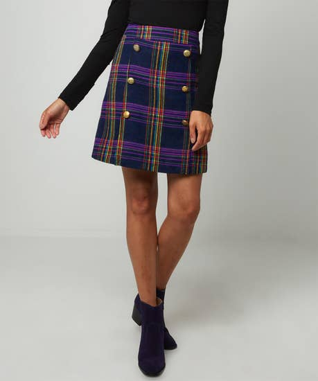 Joes Ultimate Check Skirt