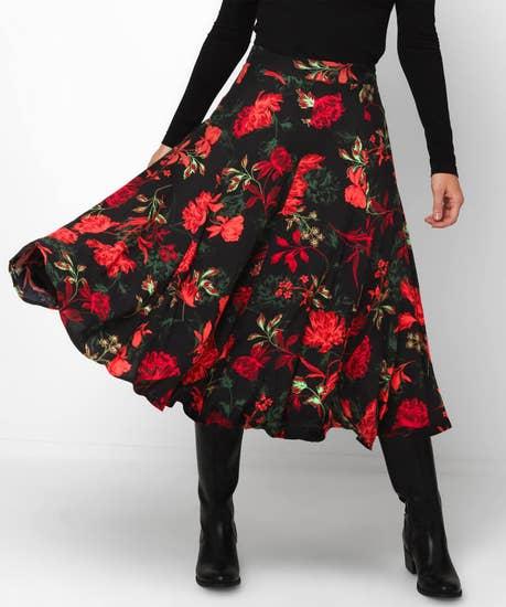 Fascinating Florals Skirt