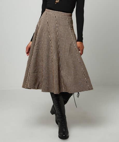 Panelled Heritage Skirt