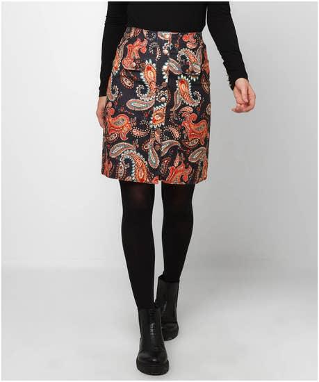 Perfect Paisley Skirt