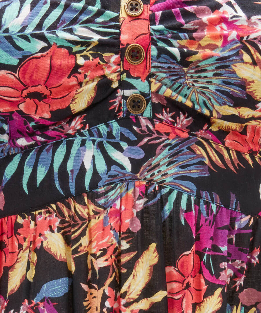 Bold And Bright Tropical Cami Back