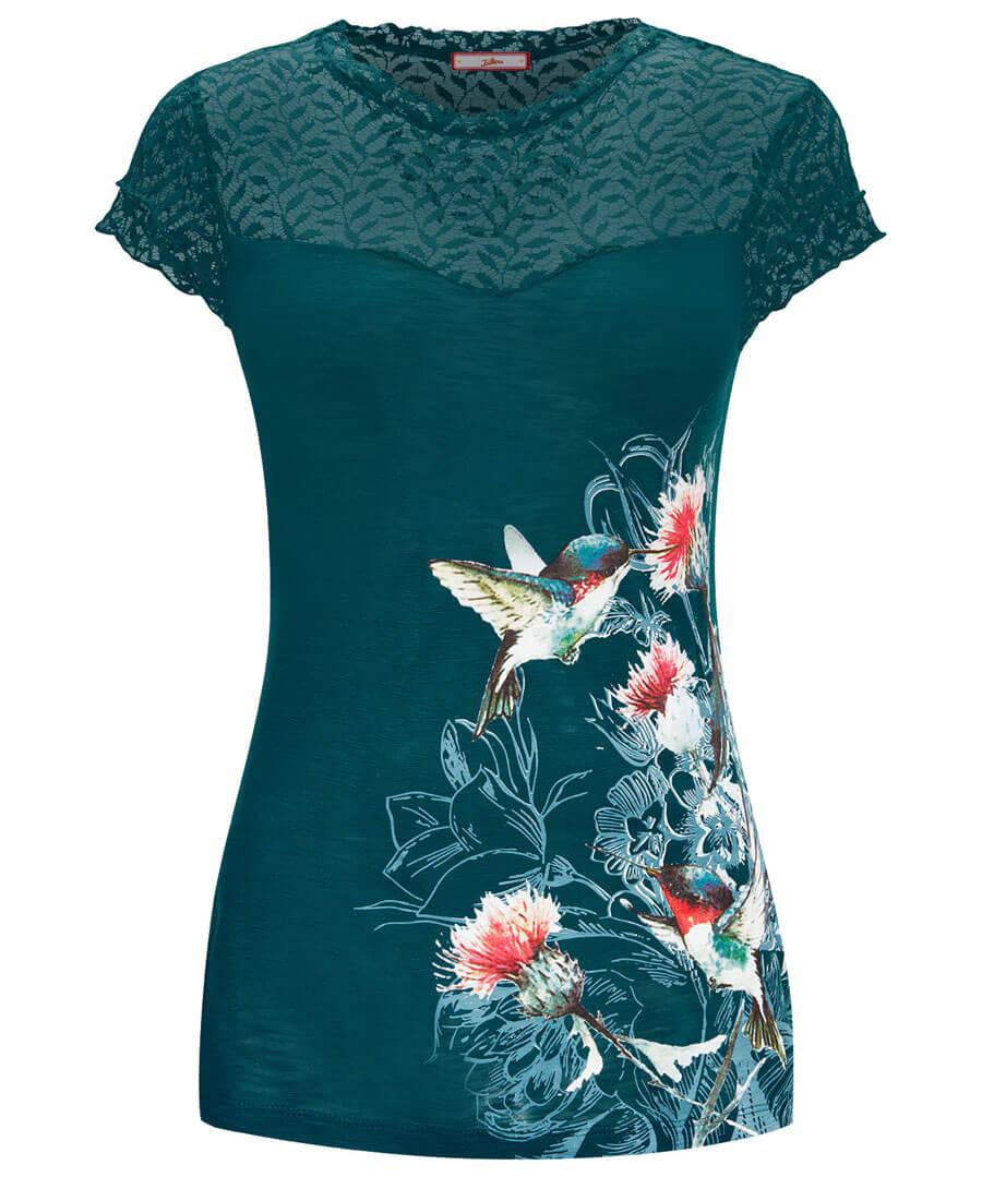 Lace Bird Top