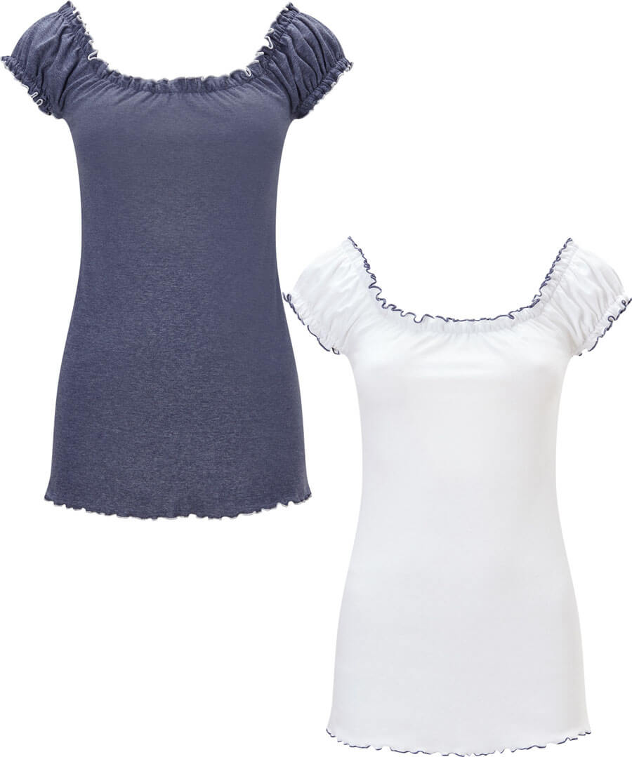 All New 2 Pack Gypsy Top Model Front