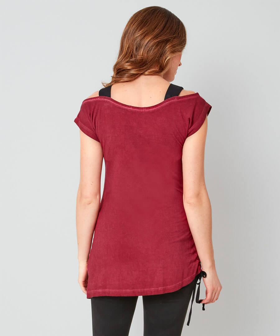 Naughty But Nice T-Shirt Model Back
