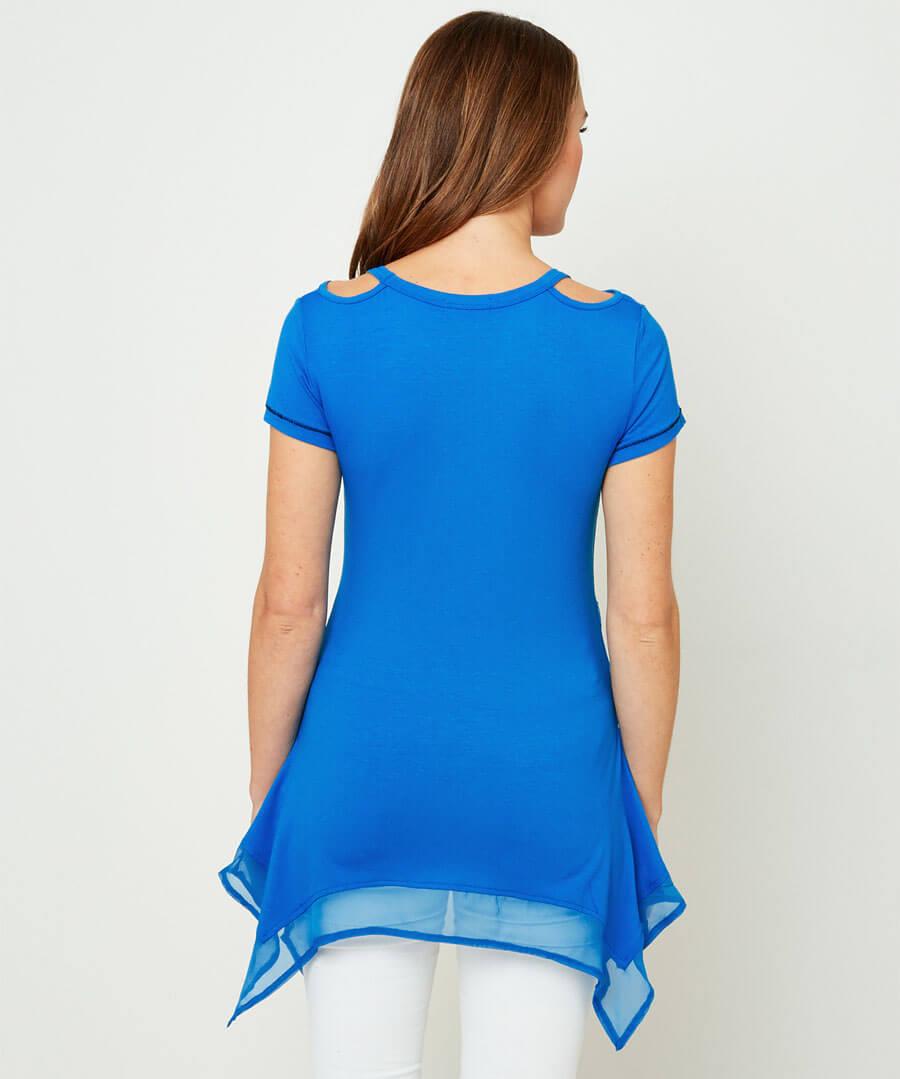 Perfect Zebra T-Shirt Model Back
