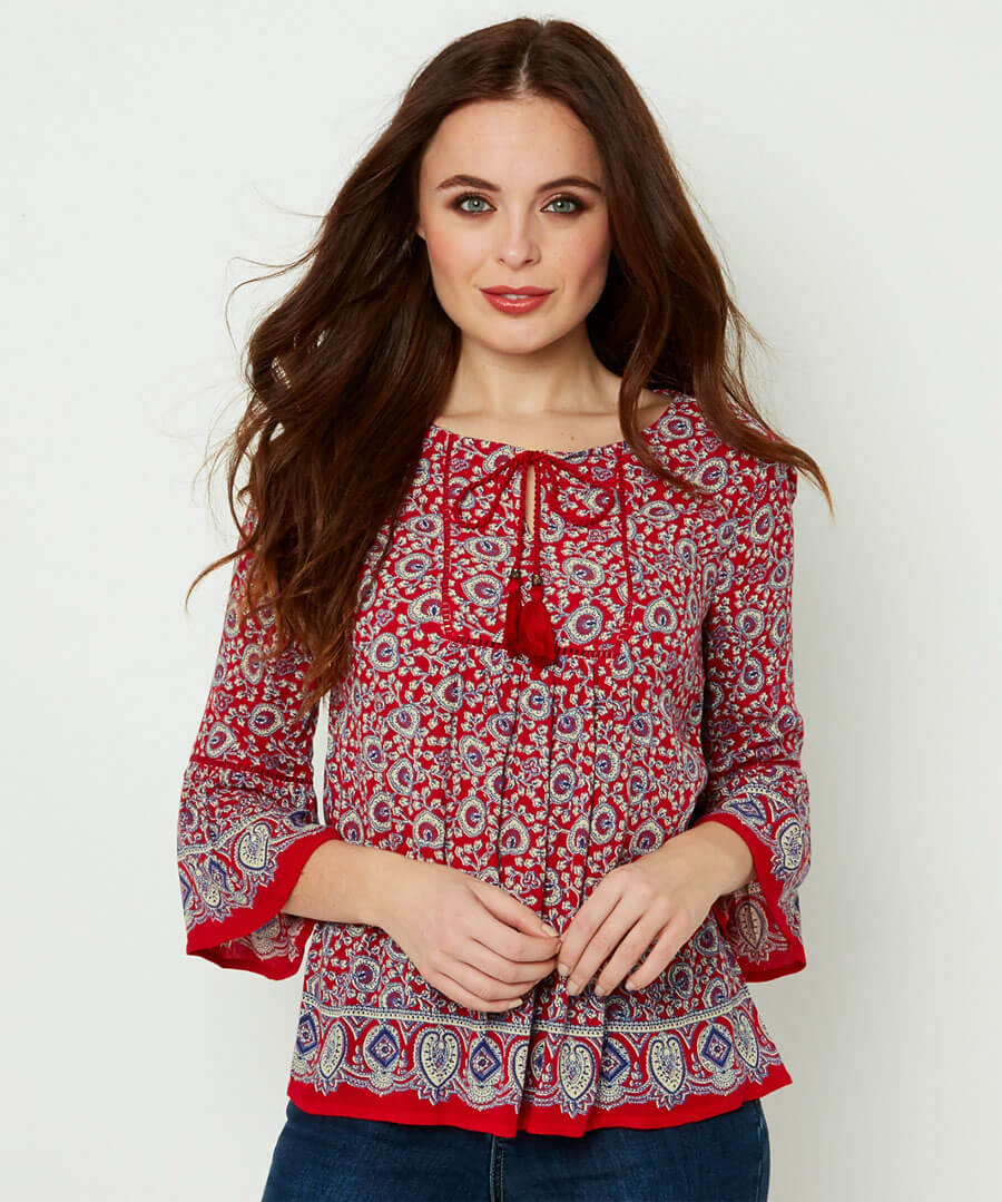 Gorgeous Gypsy Top Model Front