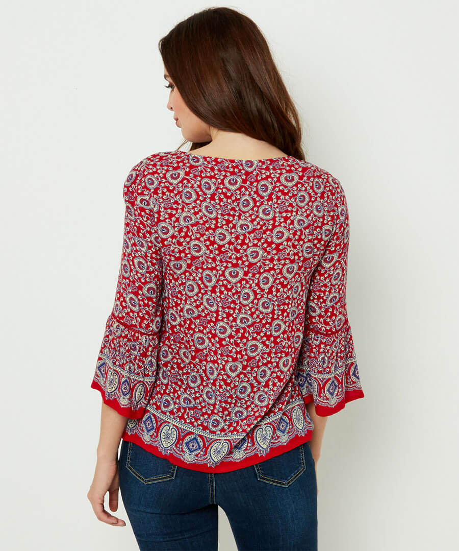 Gorgeous Gypsy Top Model Back