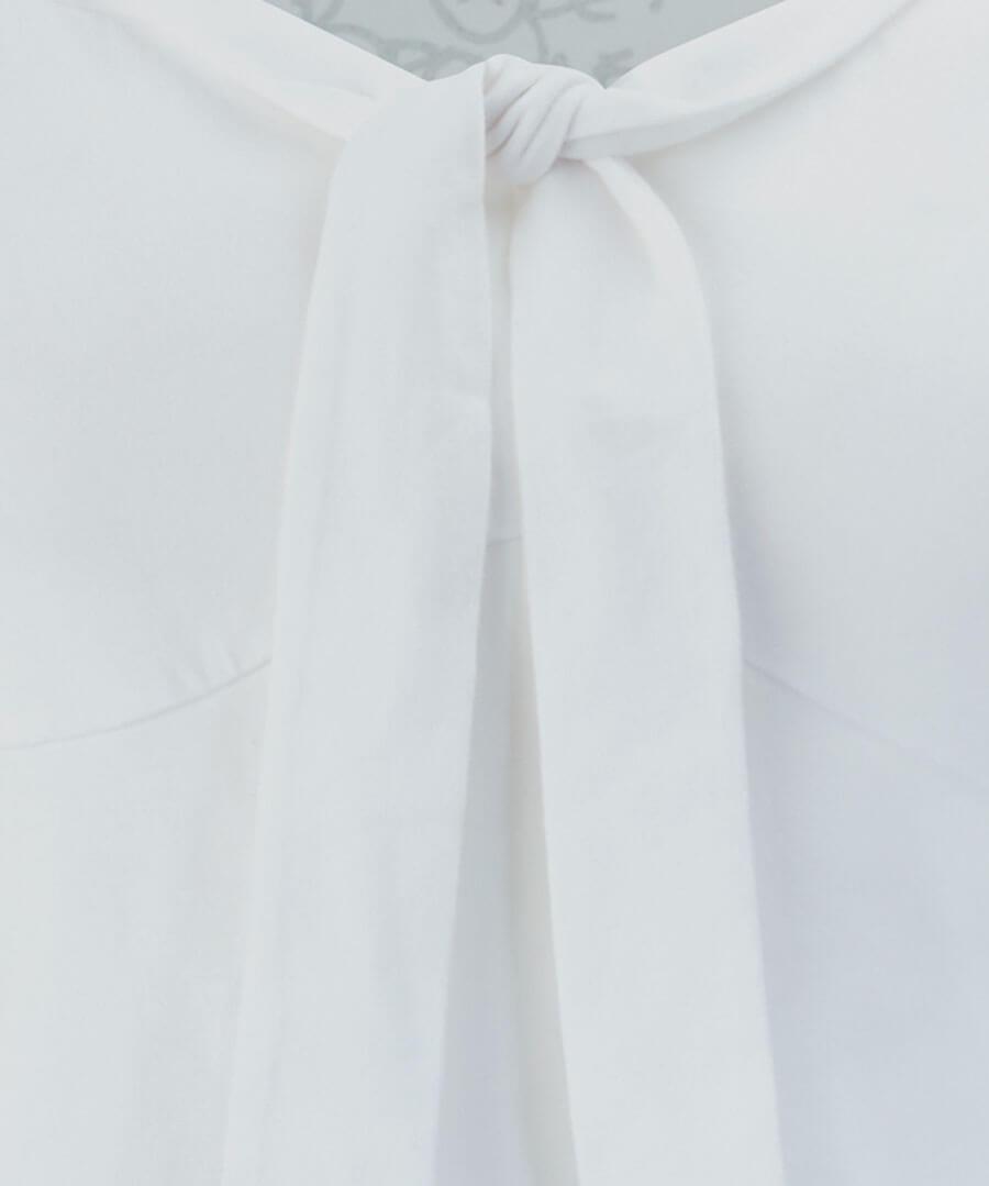 Tie Neck Basic Top