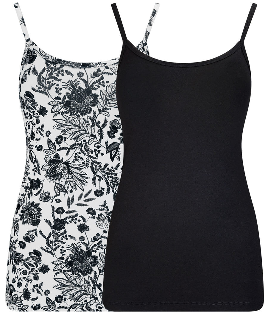 2 Pack Cami Tops Model Front