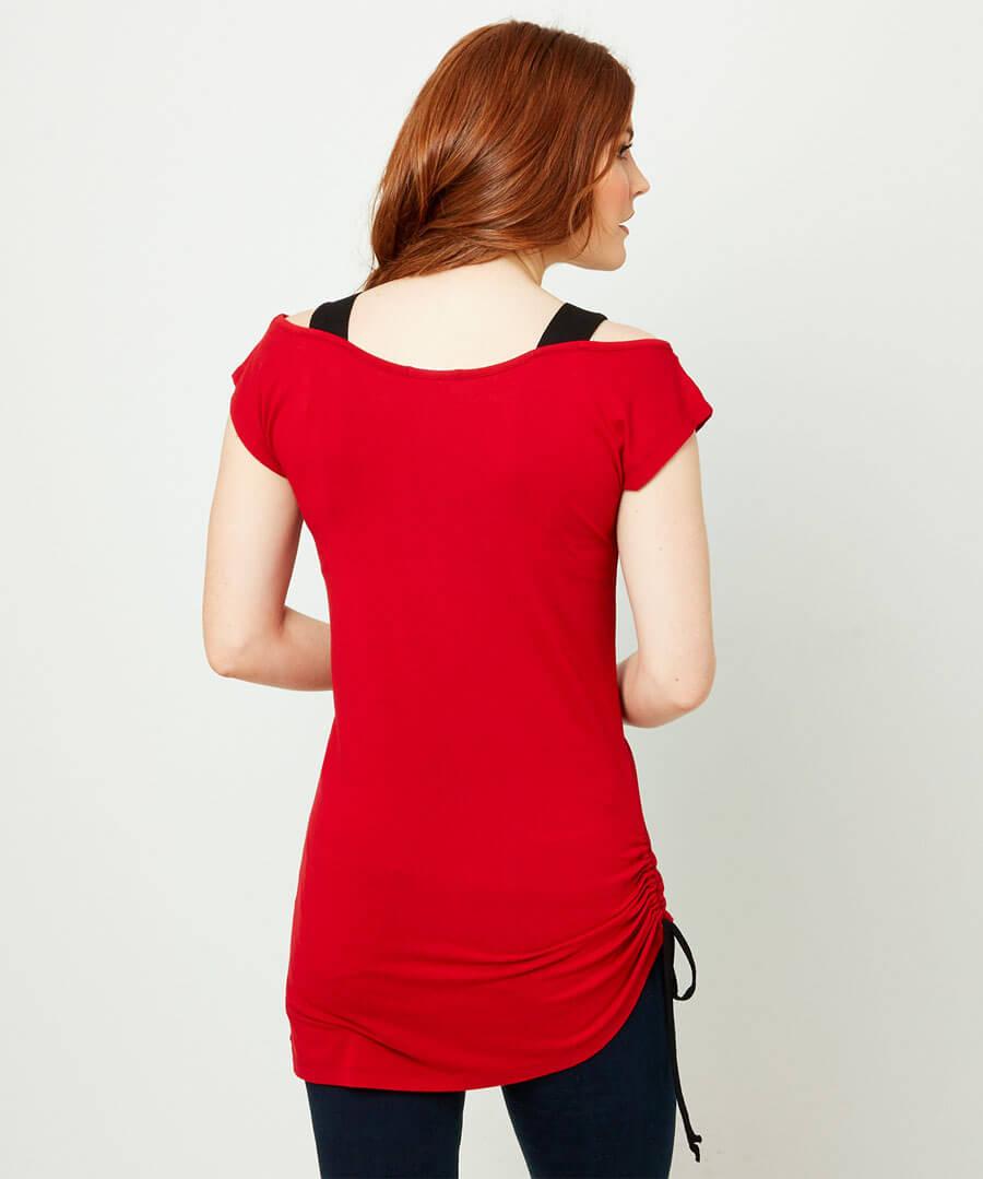 Rebel Strings T-Shirt Model Back