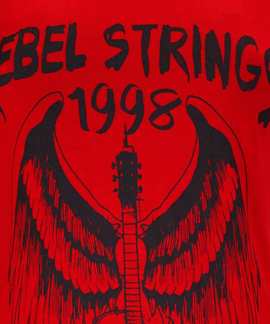Rebel Strings T-Shirt Back