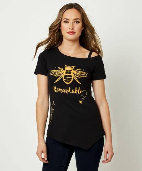 Bee Remarkable Top