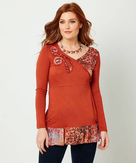 Mix And Match Animal Top
