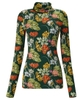 Floral Roll Neck Top
