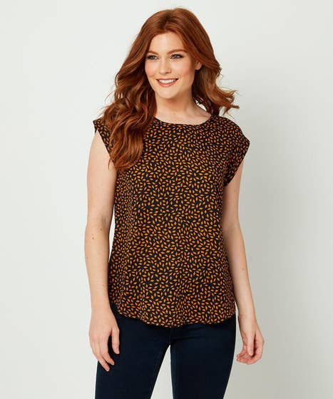 Scattered Print Top