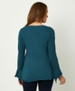 Casual Bell Sleeve Top