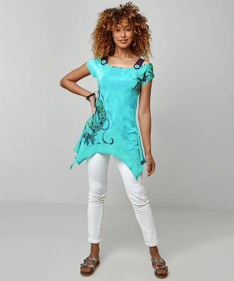 Perfect Peacock Top