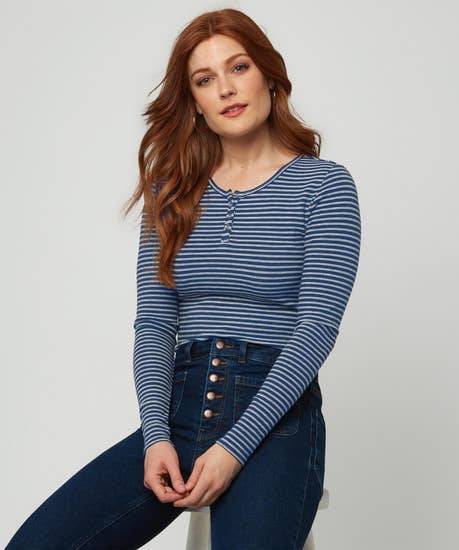 Beautiful Basic Stripe Top