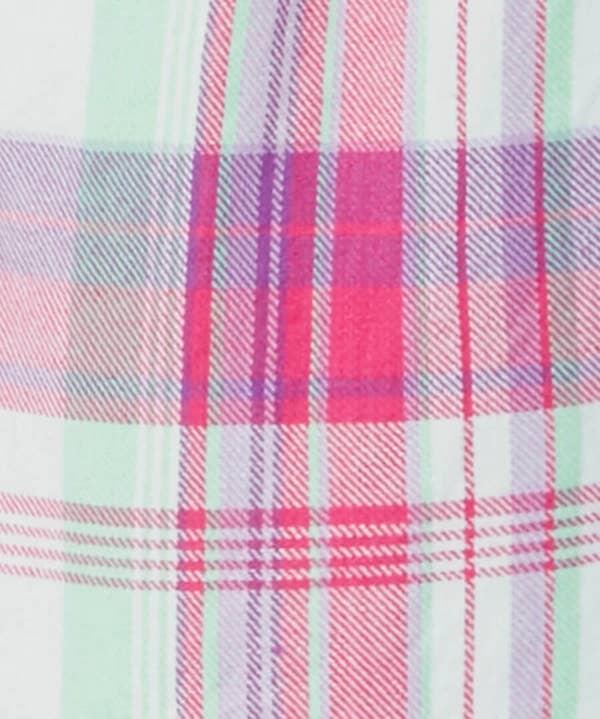 Mix And Match Check Pyjama Shorts