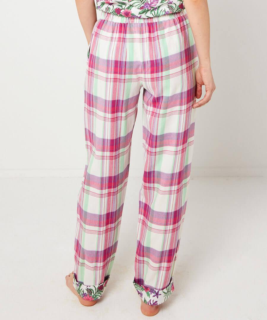 Mix And Match Check Pyjama Bottoms