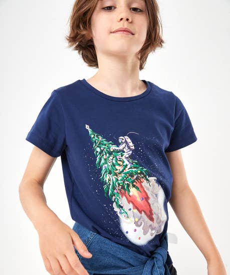 Out Of This World Xmas Tee