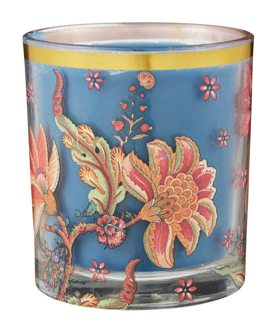 Floral Candle Model Front