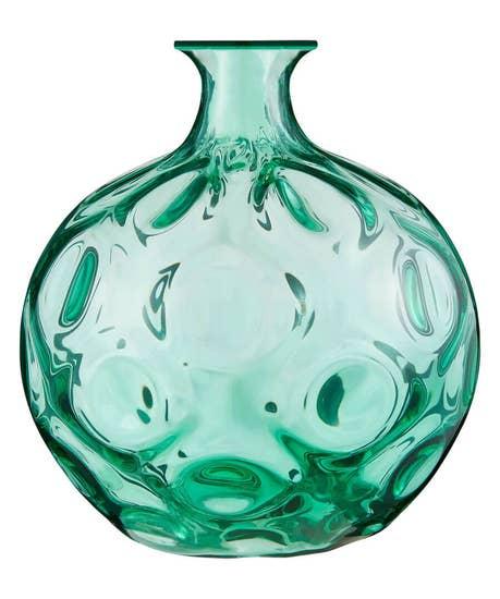 Moulded Glass Vase