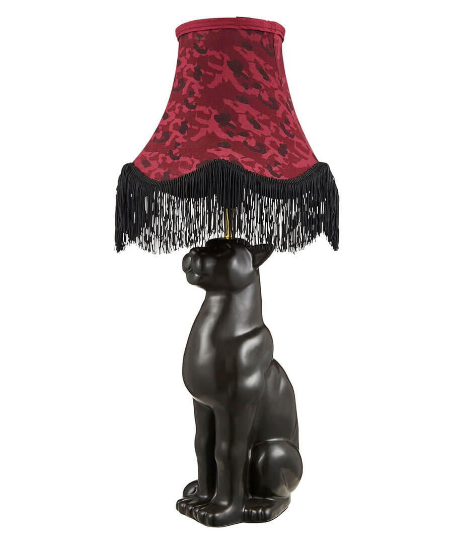 Regal Leopard Table Lamp