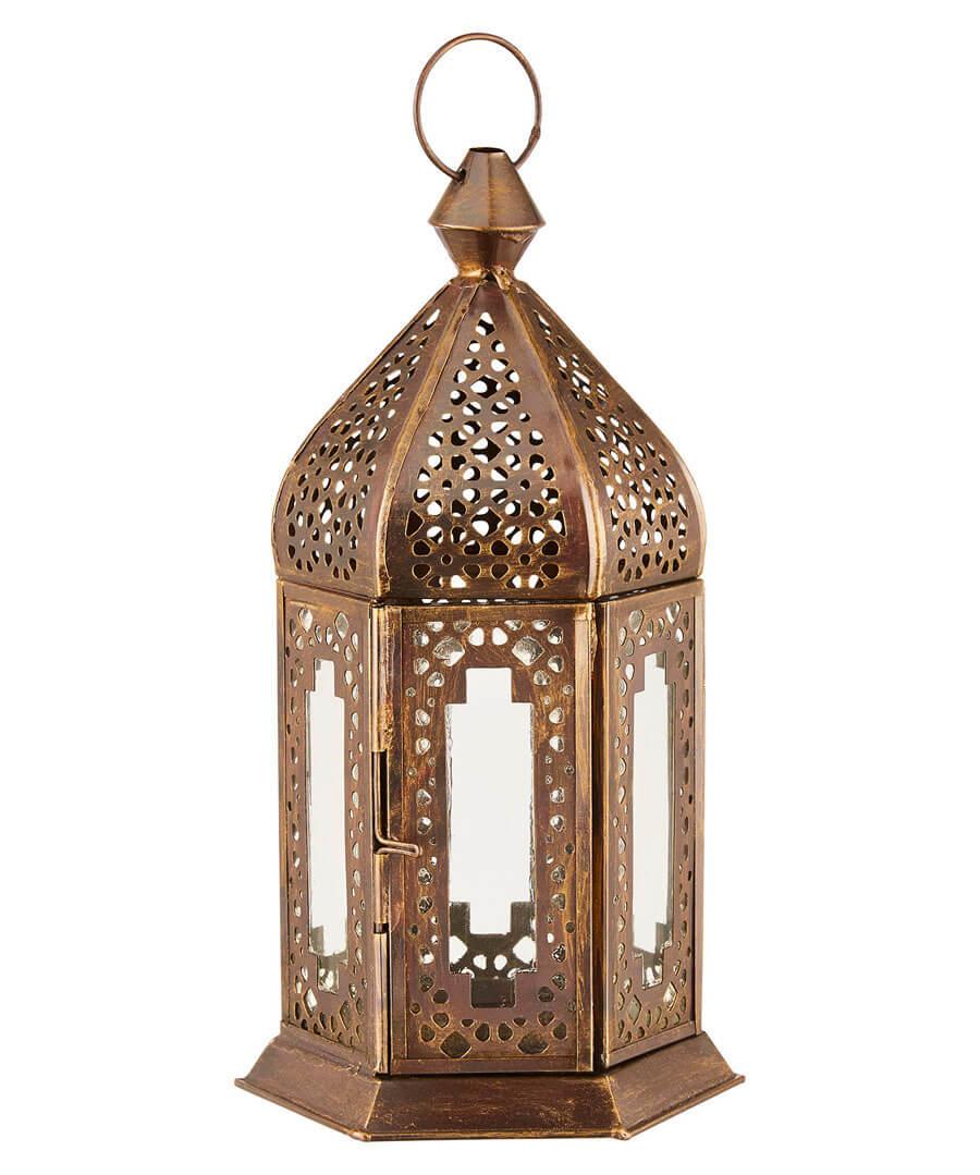 French Blossom Ornate Lantern Model Front